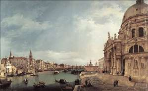 Entrance to the Grand Canal: Looking East