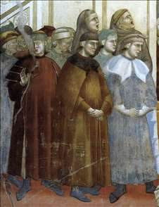 Legend of St Francis: 13. Institution of the Crib at Greccio