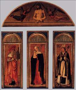 Triptych of the Virgin