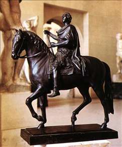 Equestrian Statue of Louis XV
