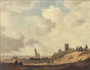 Seashore at Scheveningen