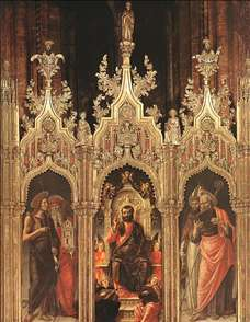 Triptych of St Mark