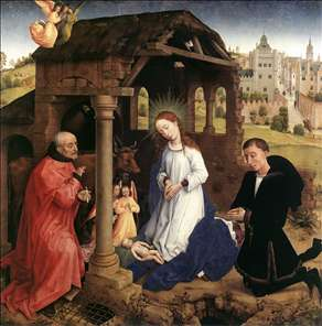 Bladelin Triptych (central panel)