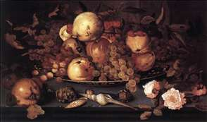 Still-life with Dish of Fruit