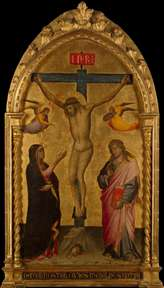 Crucifixion with the Virgin and St John