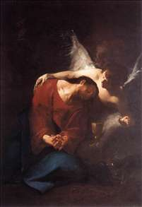 Christ Comforted by an Angel