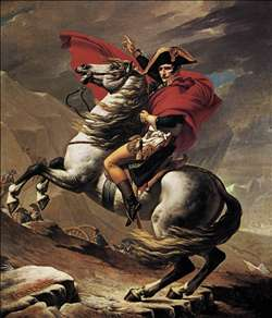 Napoleon at the St. Bernard Pass