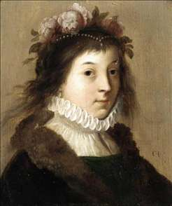 Portrait of a Young Girl as Flora