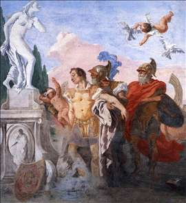 Rinaldo Leaving the Garden of Armida
