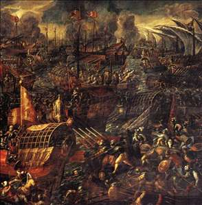 Battle of Lepanto (detail)