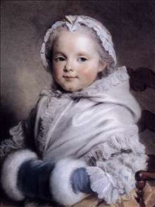 Portrait of Nicole Richard as Child