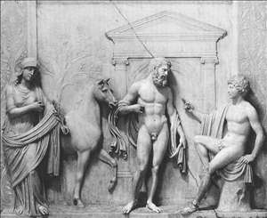Contest between Minerva and Neptune