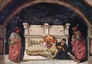Lamentation over the Dead Christ with Sts Parenzo and Faustino