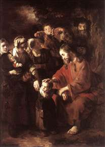 Christ Blessing the Children
