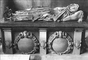 Tomb of Lady Elizabeth Carey