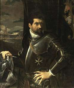 Portrait of Carlo Alberto Rati Opizzoni in Armour