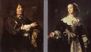 Stephanus Geraerdts and Isabella Coymans