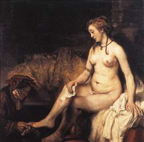 Bathsheba at Her Bath