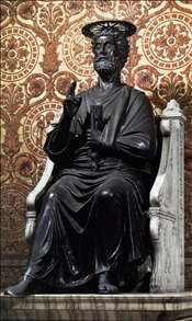 The Statue of Saint Peter
