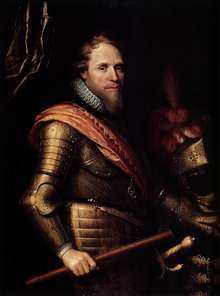 Portrait of Maurits, Prince of Orange-Nassau
