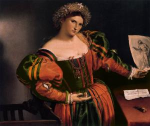 Portrait of a Lady as Lucretia