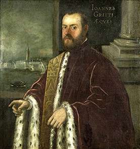 Portrait of Joannes Gritti