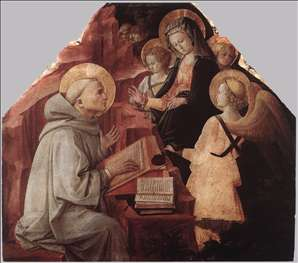 The Virgin Appears to St Bernard