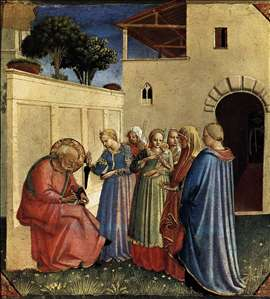 The Naming of St John the Baptist