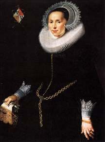 Portrait of Johanna Le Maire