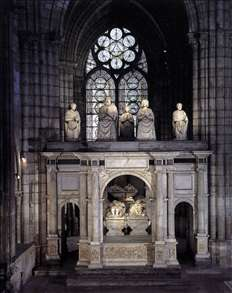 Tomb of Francis I and Claude de France