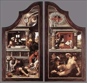 Triptych of Virtue of Patience (closed)