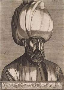 Portrait of Sultan Suleyman the Magnificent