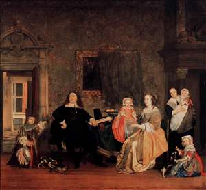Burgomaster Gillis Valckenier and His Family