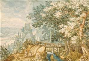 Landscape with a Footbridge