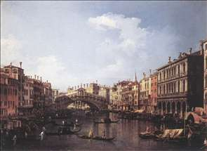The Rialto Bridge from the South