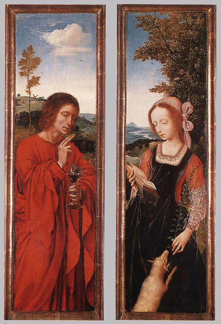 John the Baptist and St Agnes