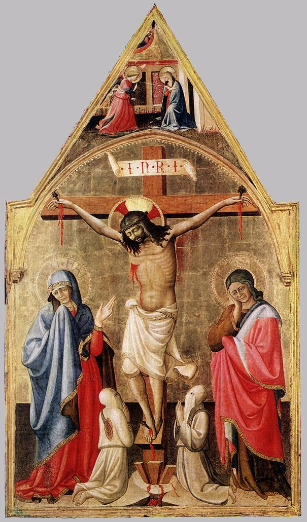 Crucifixion with Mary and St John the Evangelist