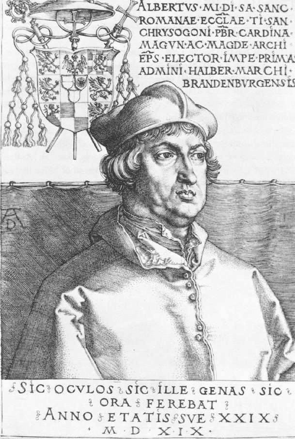 Cardinal Albrecht of Brandenburg; or, The Small Cardinal