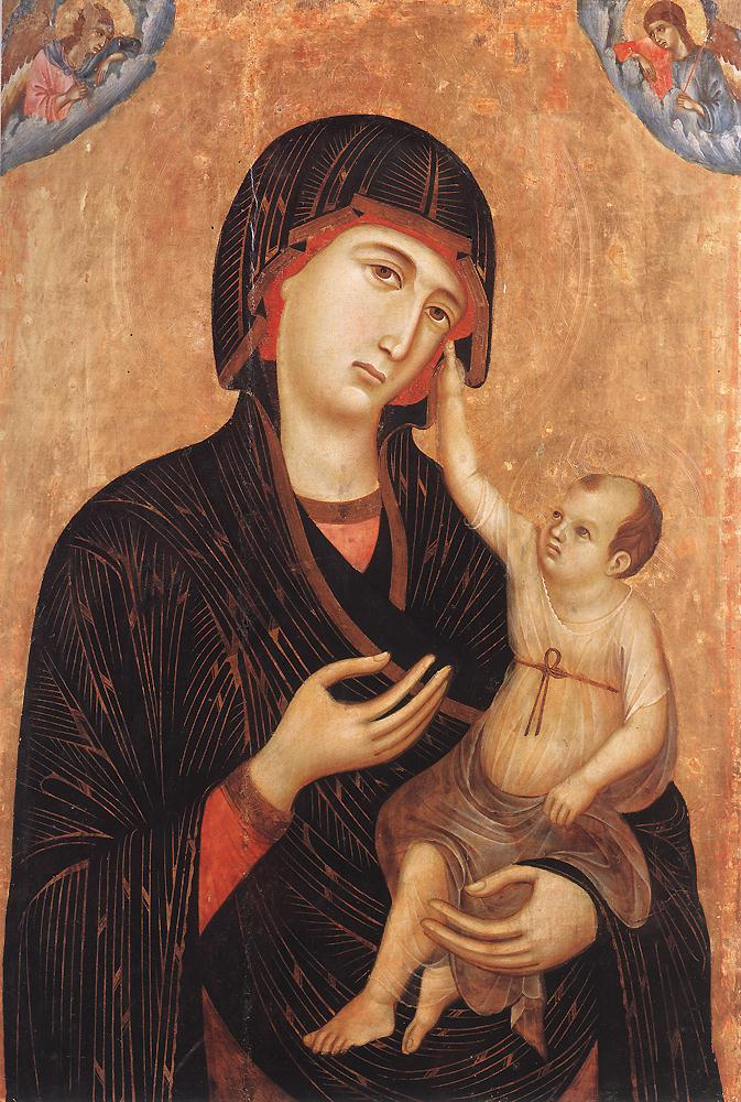 Madonna with Child and Two Angels (Crevole Madonna)