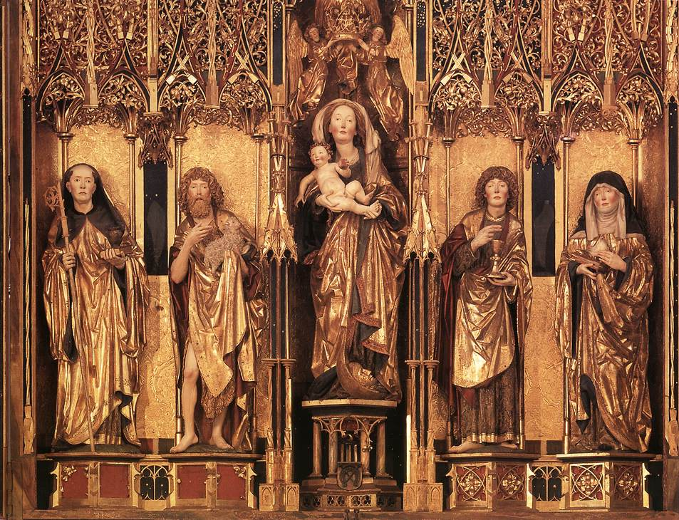 Altarpiece (central section)