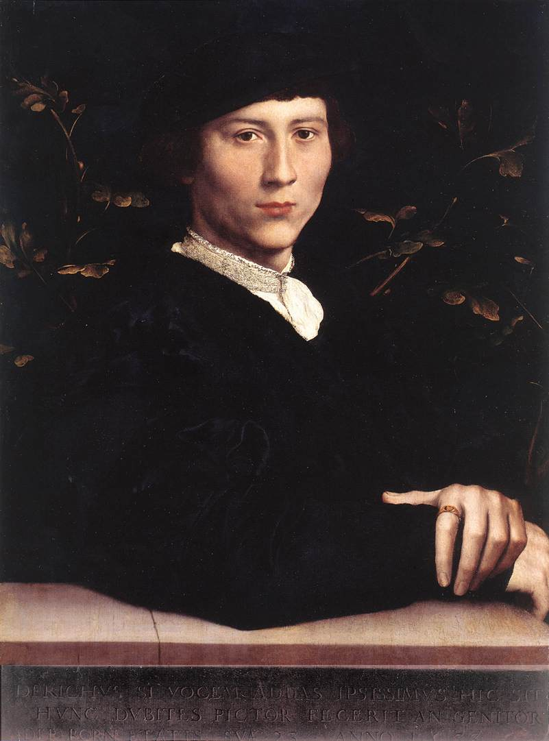 Portrait of Derich Born