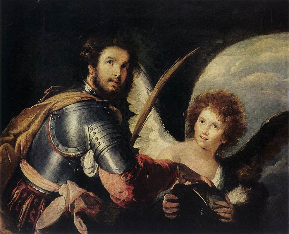 St Maurice and the Angel