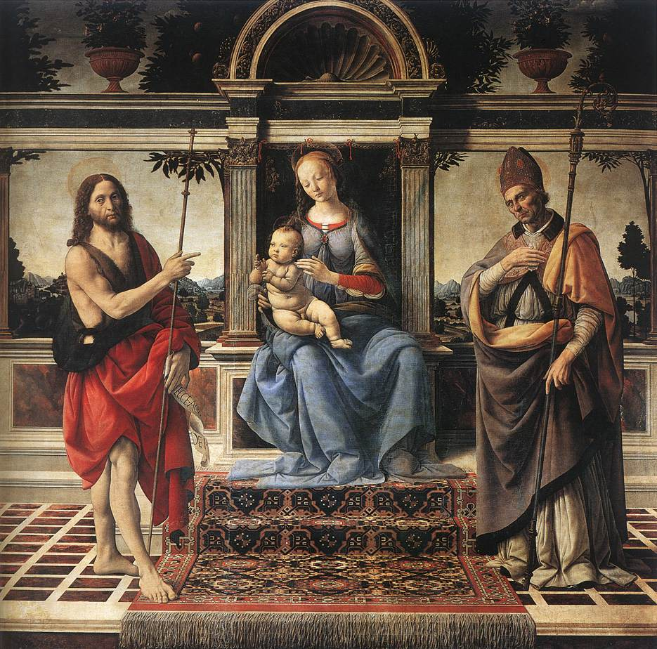 Madonna with Sts John the Baptist and Donatus