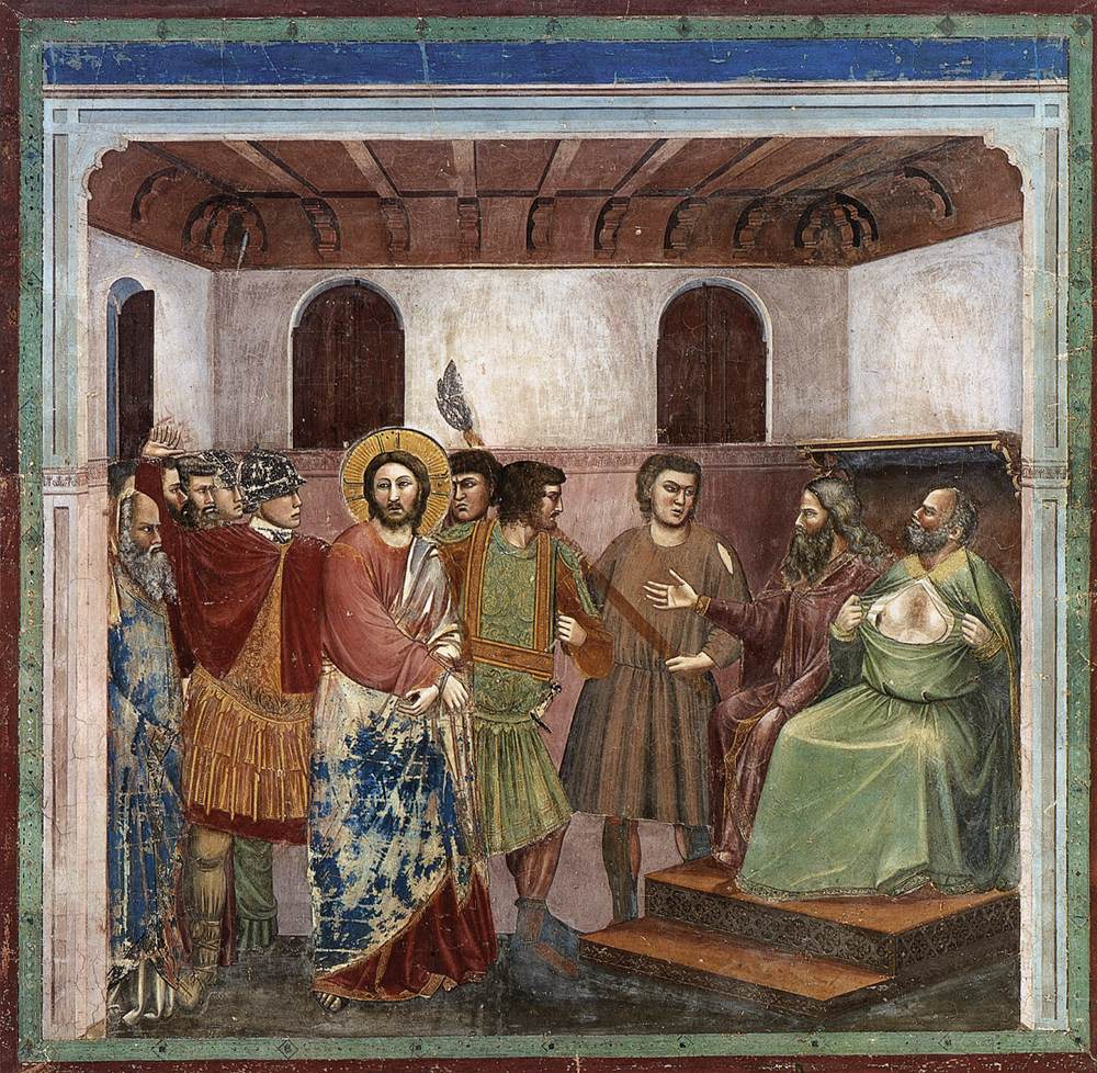 No. 32 Scenes from the Life of Christ: 16. Christ before Caiaphas