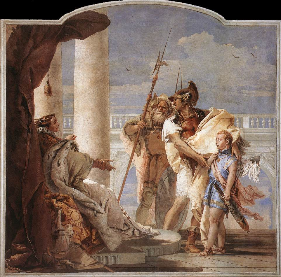 Aeneas Introducing Cupid Dressed as Ascanius to Dido