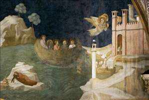 Scenes from the Life of Mary Magdalene: Mary Magdalene's Voyage to Marseilles