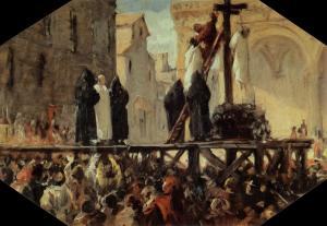The Execution of Savonarola