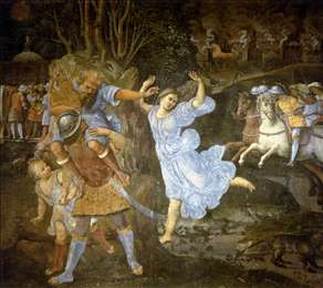 Flight of Aeneas from Troy