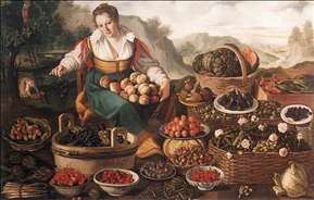The Fruit Seller