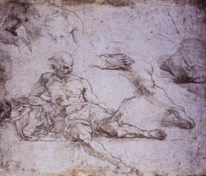 Study of Diogenes for the School of Athens